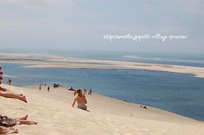 La Dune de pilat (ピラ砂丘)